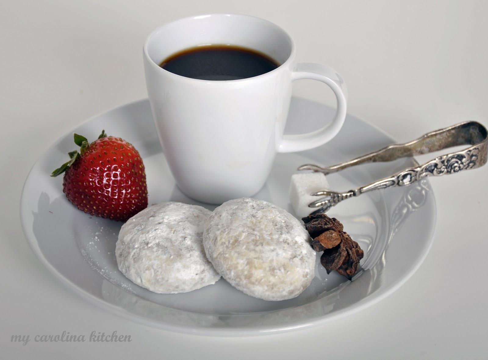 My Carolina Kitchen: Pfeffernusse cookies & Italian espresso with a ...
