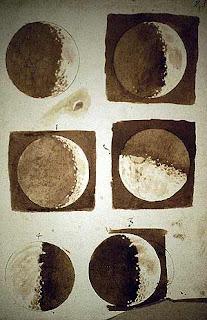 La luna según Galileo