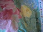 Tecido ás flores