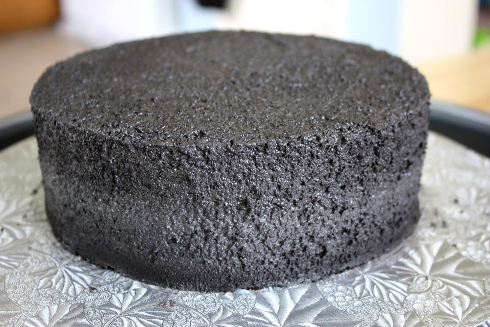 A spackled cake