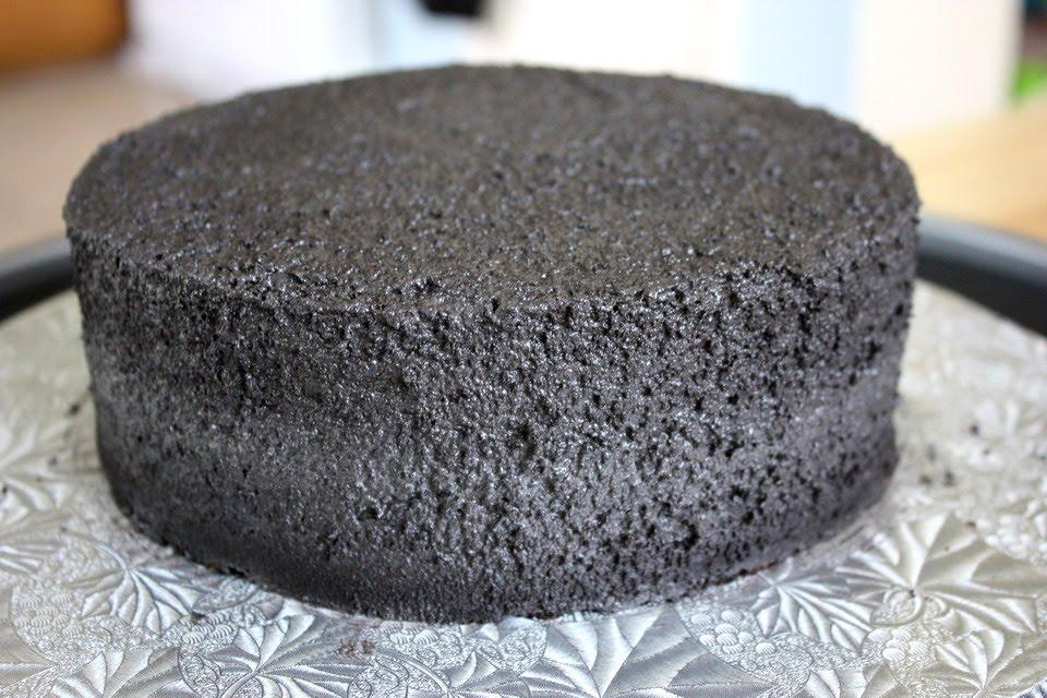 A spackled cake