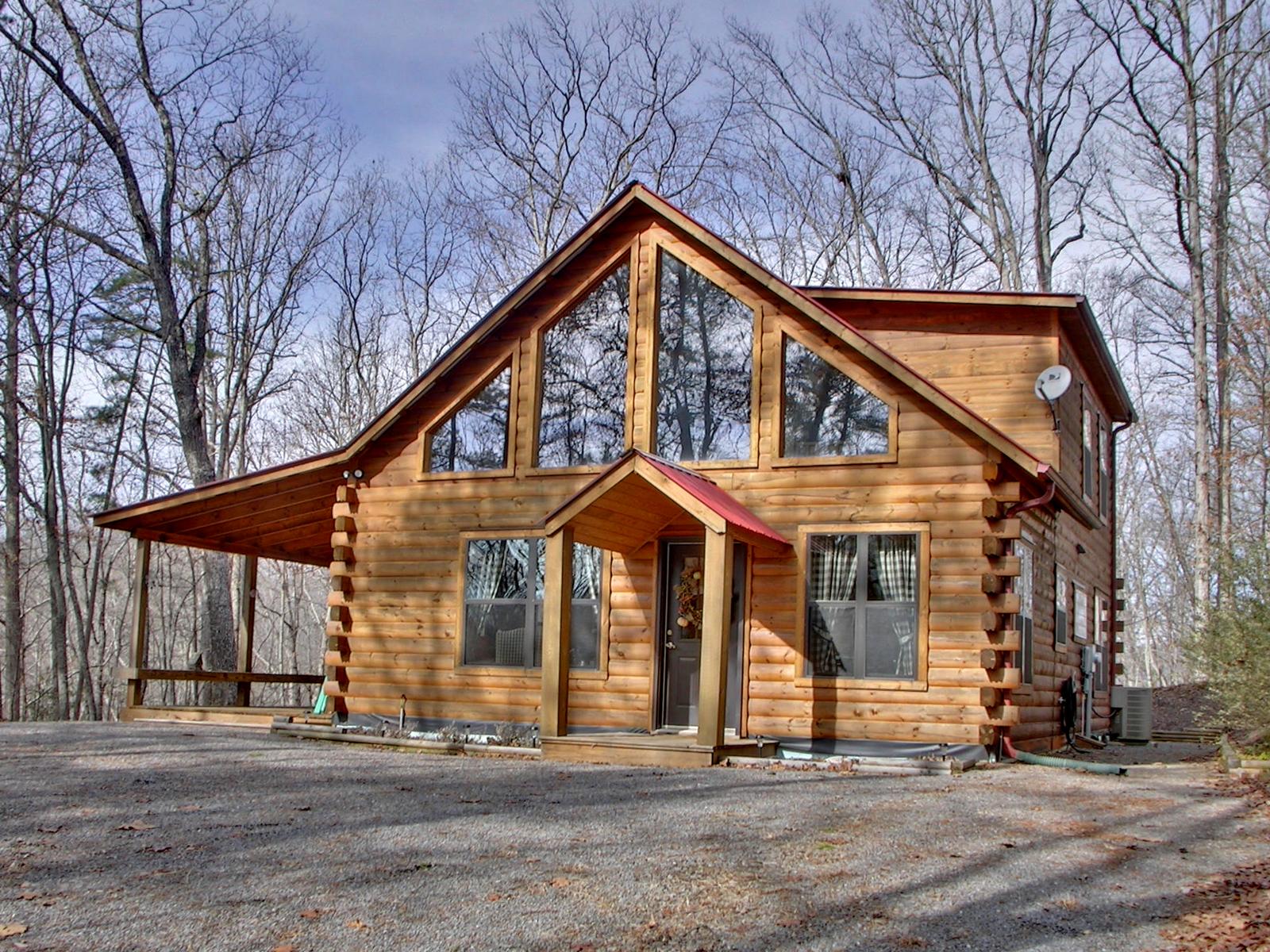 Large log cabin home joy studio design gallery best