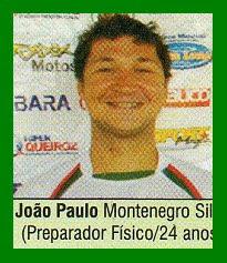 PREPARADOR FÍSICO JOÃO PAULO MONTENEGRO SILVA