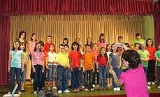 Con algunos de mis alumnos...