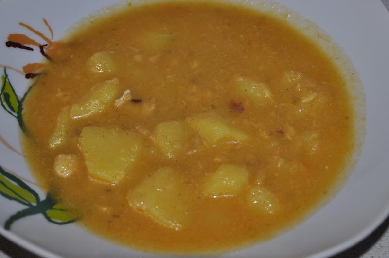 Las recetas de la abuela adeli patatas con bacalao - Bacalao con garbanzos y patatas ...