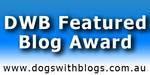 Dogs with Blogs Award