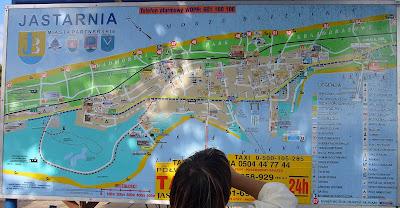 jastarnia mapa
