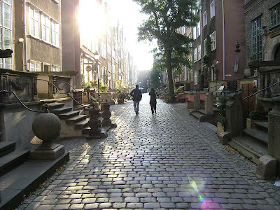 uliczki gdańska