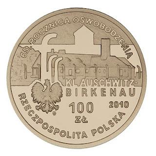 awers 100 pln Auschwitz