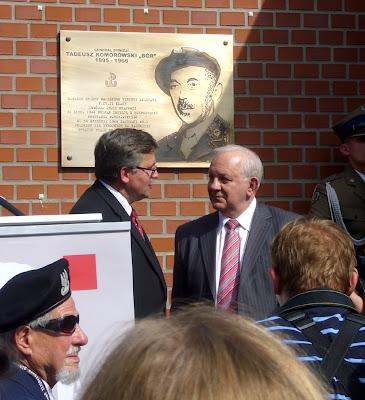 Bronisław Komorowski Muzeum Powstania Warszawskiego lipiec 2008