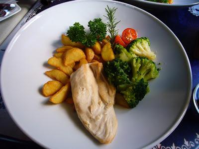 pierś kurczaka lunch mon balzac