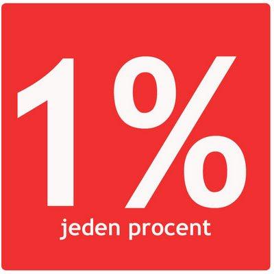 1% jeden procent opp podatek