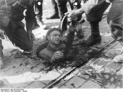 niemieckie zdjęcia z powstania