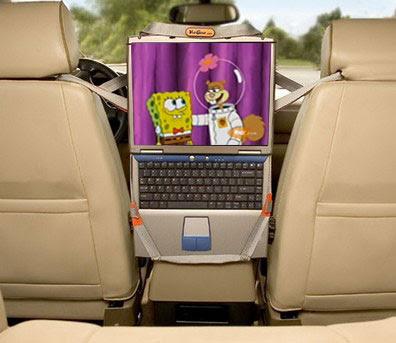 DVD para carro e como usá-lo sem risco de multa