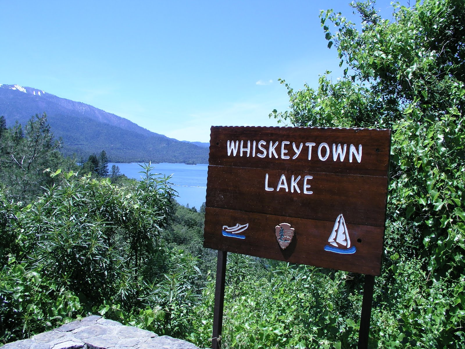 Tc sees america whiskeytown national recreation area for Whiskeytown lake fishing