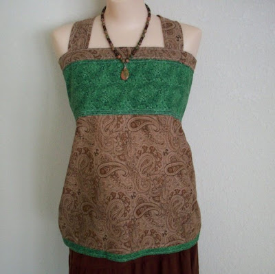 Ravelry: Apron Top pattern by Theresa Belville