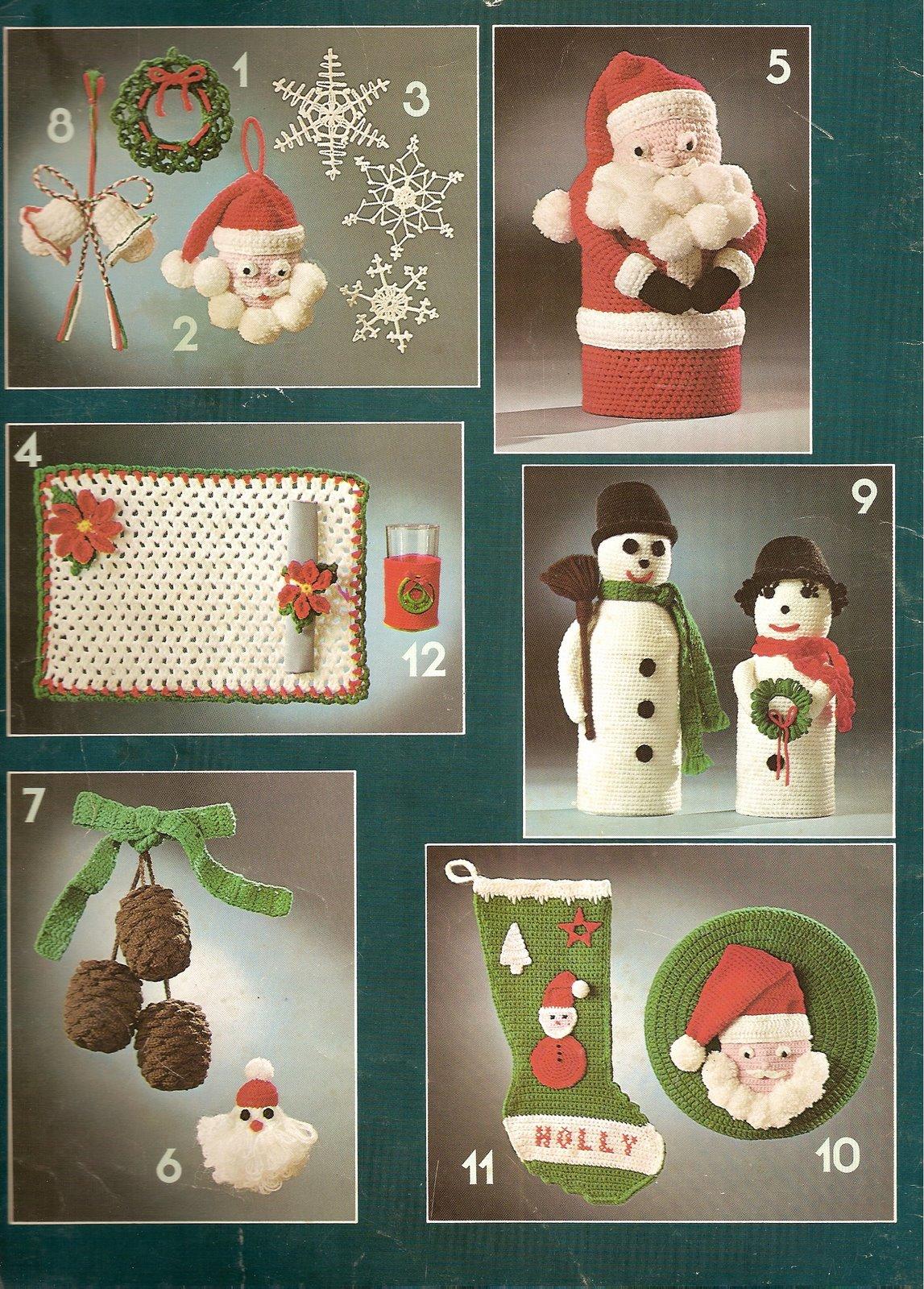 Amicrochet calcetin de navidad - Calcetin de navidad ...