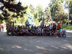 Grupul de elevi si profesori din Turcia si Romania in vizita din Romania