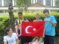 Elevii turci in vizita din Romania