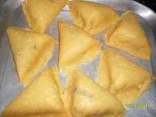 Las empanadas antes de fritarlas