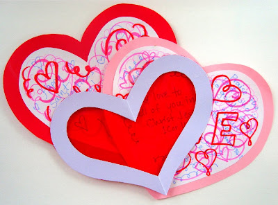 St Valentine Craft and Card – Valentine Cards Make Your Own