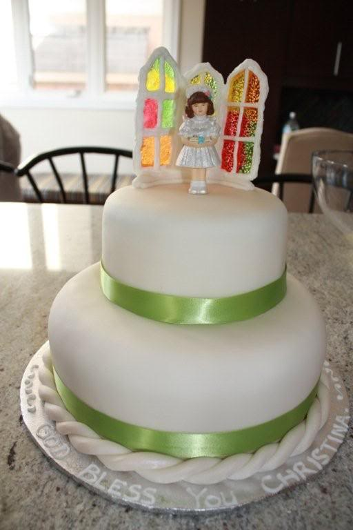Cake Designs For First Communion : Catholic Icing: First Commuion Cakes and Food Ideas