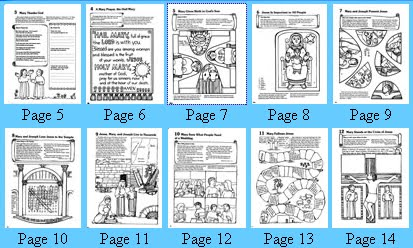 Catholic Icing: Free Mary Printables for Kids