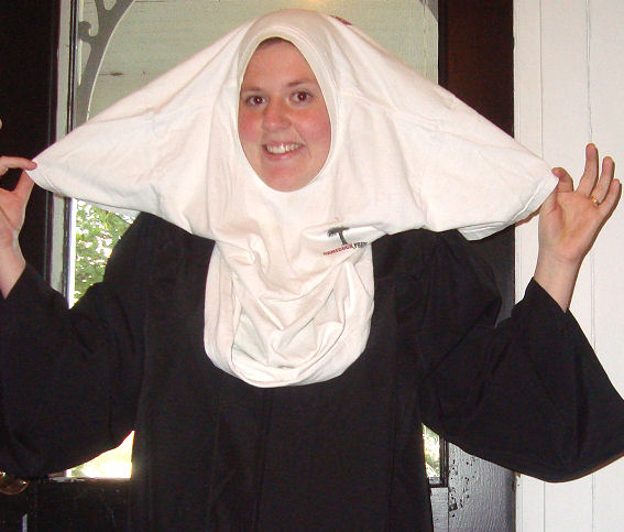 How to make a nun costume solutioingenieria Image collections