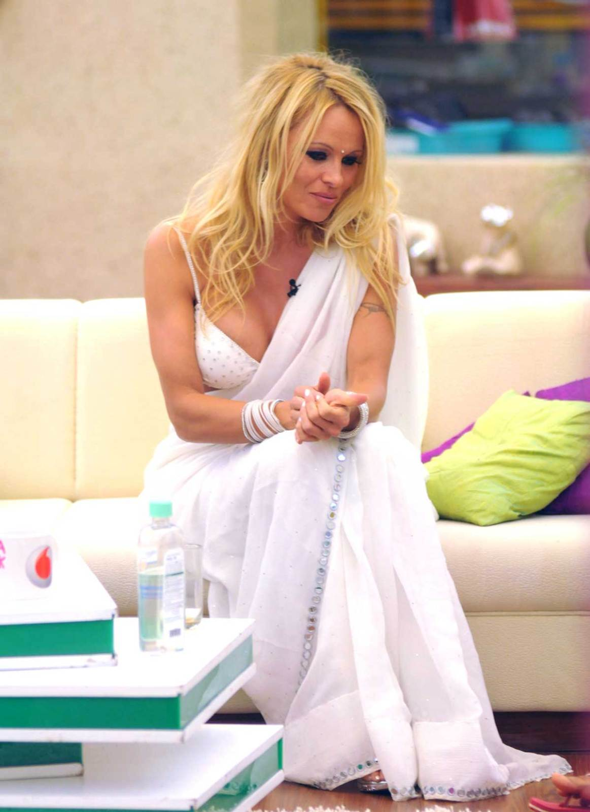 Pamela Anderson in Sexy White
