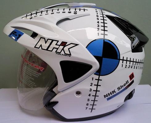 Jualjakethelmblogspot Helm NHK Predator F1