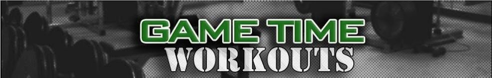 Game Time Workouts - Pro Athlete Training Routines, Nutrition, Fitness and Exercise Tips