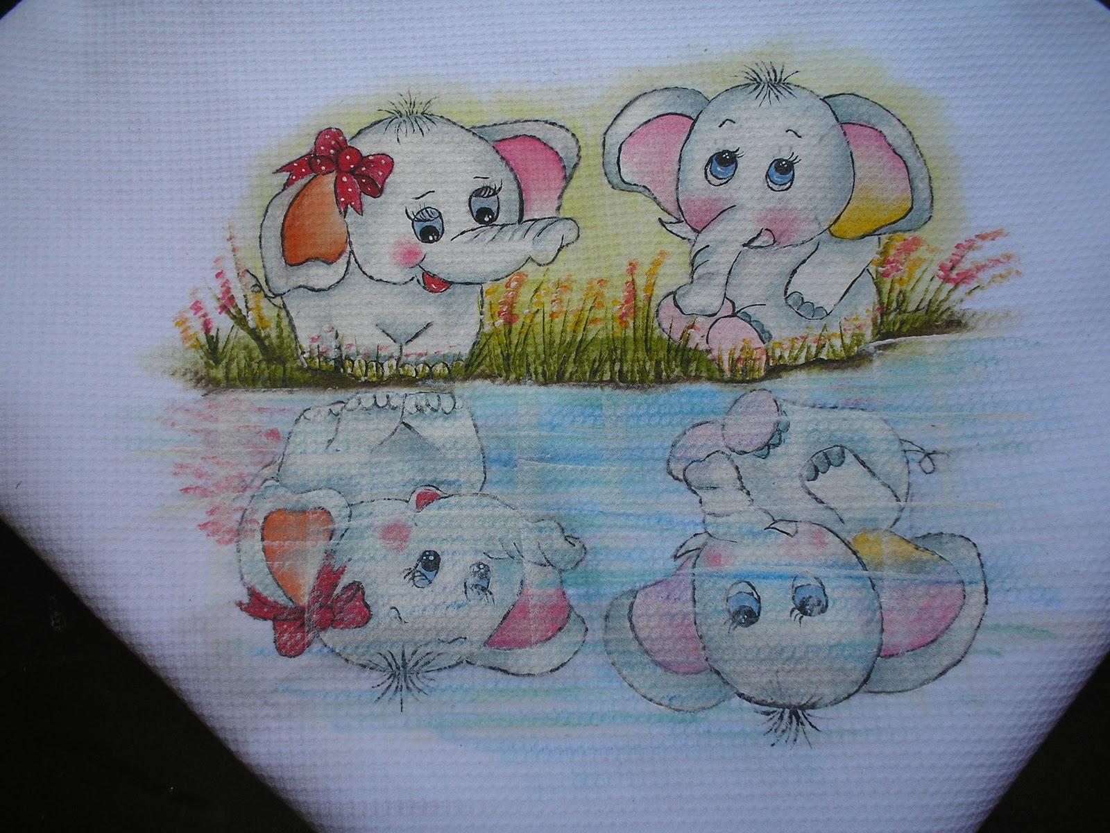 By nil art pintura em tecido camiseta infantil - Pintura infantil pared ...