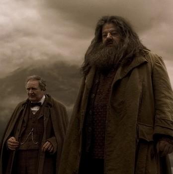 Slughorn & Hagrid