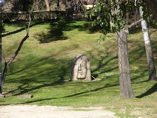 Cabeza Rincón de Goya parque Grande Primo de Rivera Zaragoza