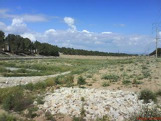 zona de inundación Barranco de la Muerte