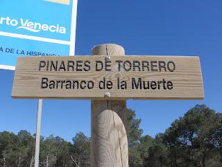 pinares de Torrero Barranco de la muerte Zaragoza