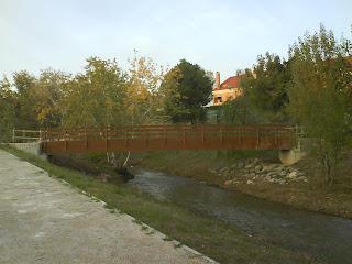 pasarela fuente de la junquera Zaragoza