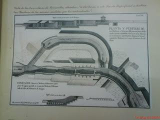 Cartel esclusas de Torrecilla de Valmadrid