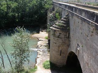 acueducto Canal Imperial de Aragón sobre el Jalón