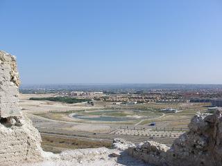 Lagos Penelope Curz vistas ermita de Santa Barbara Valdespartera Zaragoza
