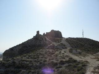 alto ermita de Santa Barbara Valdespartera Zaragoza