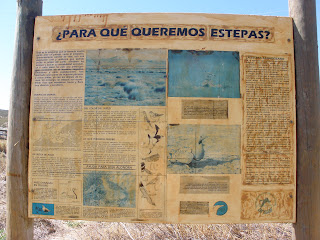 cartel Parque de la balsa Torrecilla de Valmadrid