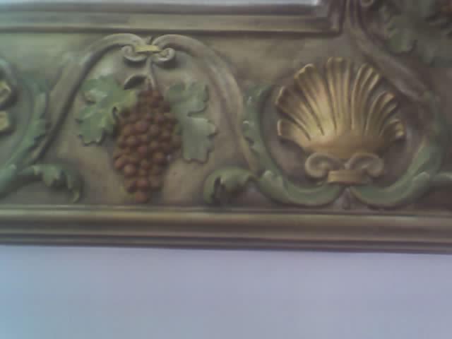 cornisa decorada