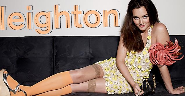 Leighton Meester: Nylon Cover Girl