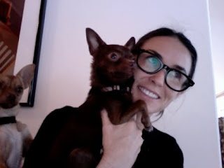Demi Moore Chihuahua