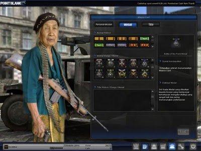 waktu main PB di screenshot lalu diedit pakai software pengolah gambar