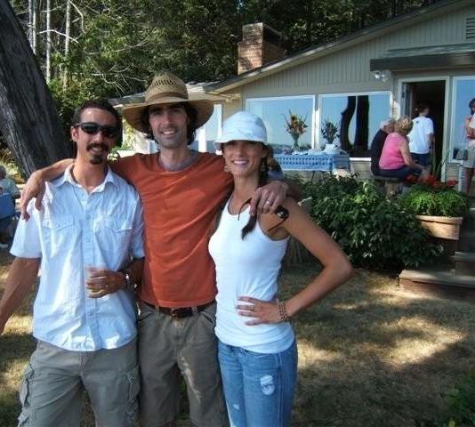 Pete, Kirk, Laura