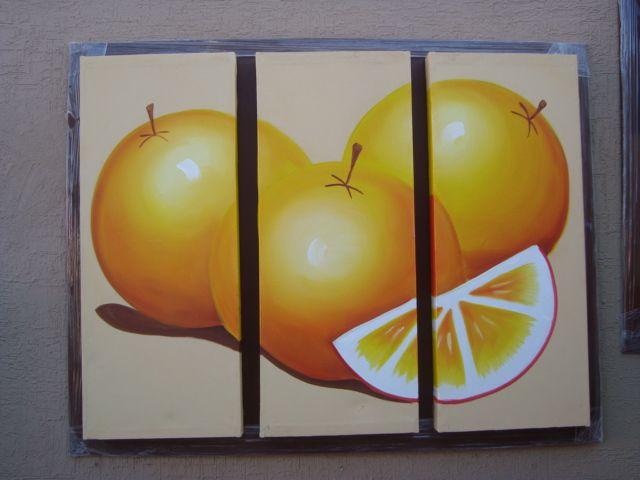 Decoraciones kiver cuadros tripticos con marco en for Cuadros modernos para decorar cocinas