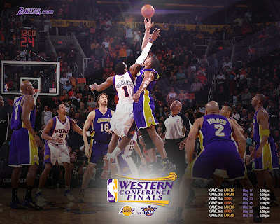 Final Conferencia Oeste 2010: Lakers-Suns
