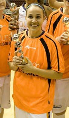 Becky Hammon en la Copa de la Reina 2010